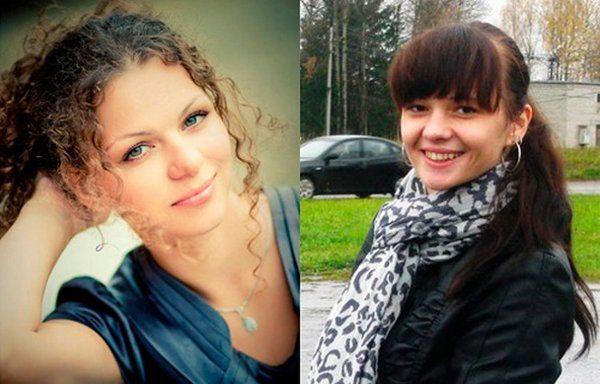 Слева направо: Мария Бондаренко, Анна Гордиенко